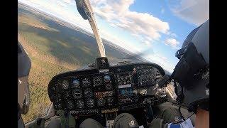 Pilotelever træner til første eksamen