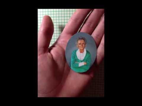 Portrait Miniature: a step-by-step slideshow