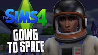 The Sims 4 - GOING TO SPACE - The Sims 4 Funny Moments #12