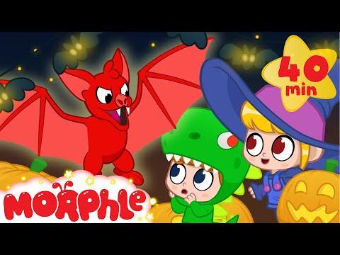 Ghost Morphle! Halloween - My Magic Pet Morphle | Cartoons For Kids | Morphle TV | BRAND NEW
