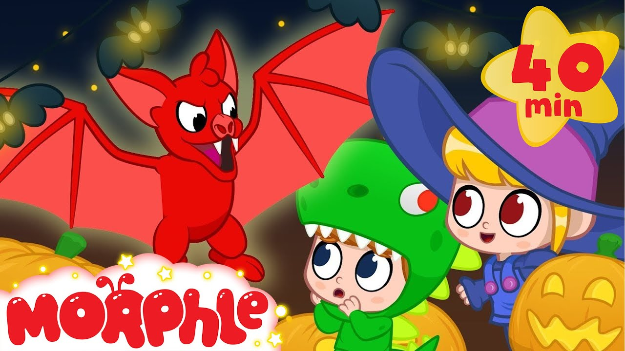 Ghost Morphle! Halloween - My Magic Pet Morphle | Cartoons For Kids | Morphle TV | BRAND NEW