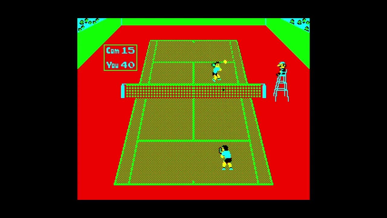 Nintendo no Tennis (任天堂のテニス) for the NEC PC-88