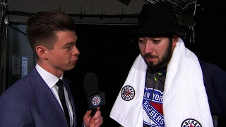 Zibanejad scores OT winner, wears lovely fedora