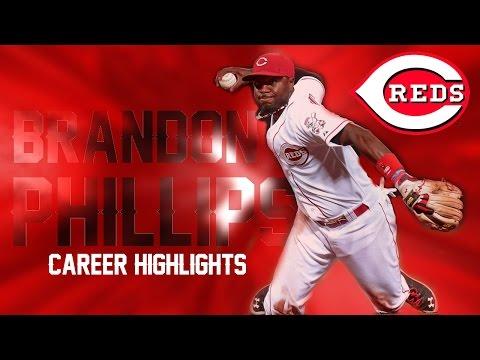 Brandon Phillips | Reds Career Highlights Mix ᴴᴰ