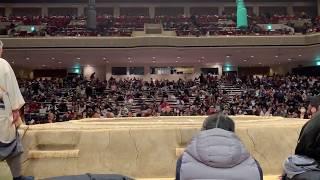 北陣親方(元幕内・翔天狼) x 音羽山親方(元幕内・天鎧鵬) ref. http://w...
