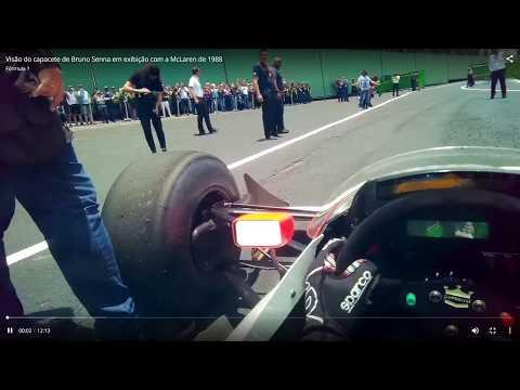 ON BOARD MCLAREN MP4/4- Bruno Senna
