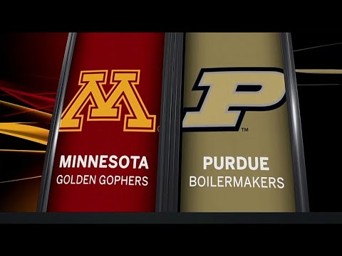 Minnesota at Purdue - Football Highlights