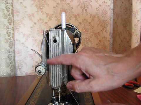 Как научиться шить на подольской швейной машинке 2 М класса