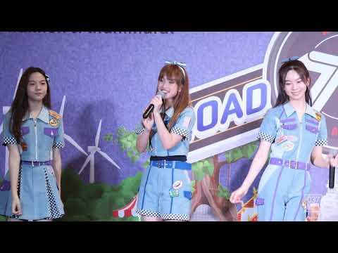 200118 BNK48 New - Kimi Wa Melody @ Road Show Nakhon Si Thammarat [Fancam 4k60p]