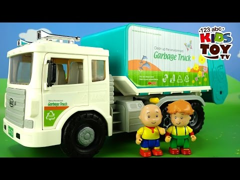 Thumbnail: Toy GARBAGE TRUCK. Toys for boys. The amusing animated film for kids about toys