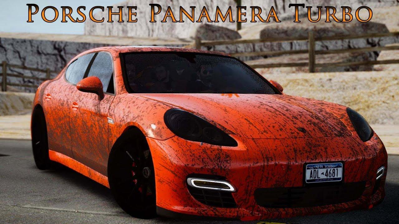 porsche panamera turbo black edition maximum car test gta iv youtube