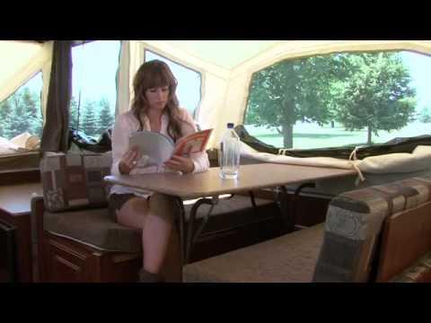 how to set up a avan camper