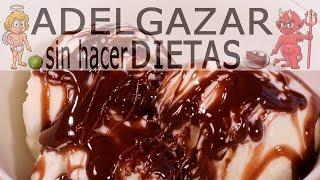 SIROPE DE CHOCOLATE SIN AZÚCAR CASERO # ADELGAZAR SIN HACER DIETAS