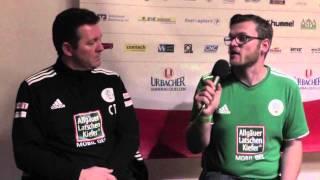 Interviews SG Sonnenhof Großaspach - FC 08 Homburg (25. Spieltag Regionalliga Südwest 2013/14)