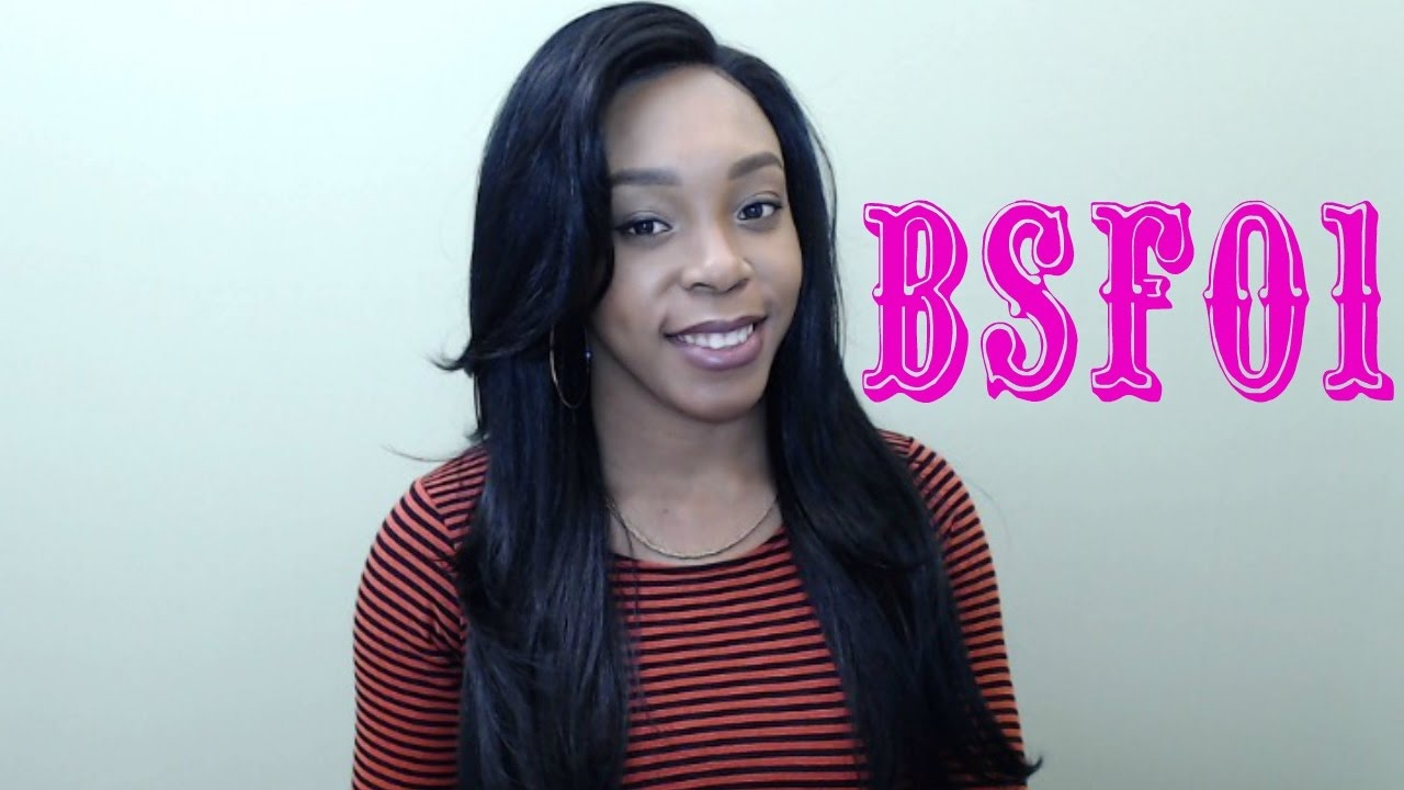 85fcec765d3f Brown Sugar Human Hair Blend Frontal Lace Front Wig - BSF01 (13x4 Lace  Closure Wig) -- WIGTYPES.COM