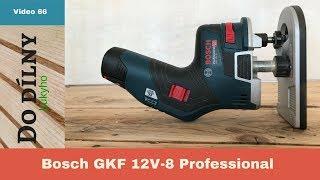 Bosch GKF 12V-8 Professional / Akumulátorová ohraňovací frézka / Aku nářadí