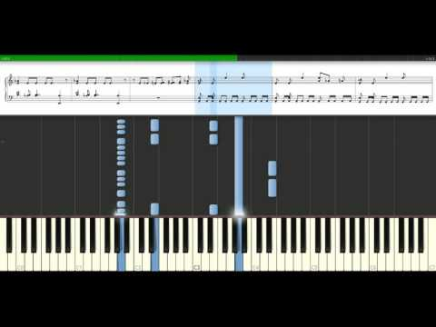 Black Eyed Peas - Pump it [Piano Tutorial] Synthesia