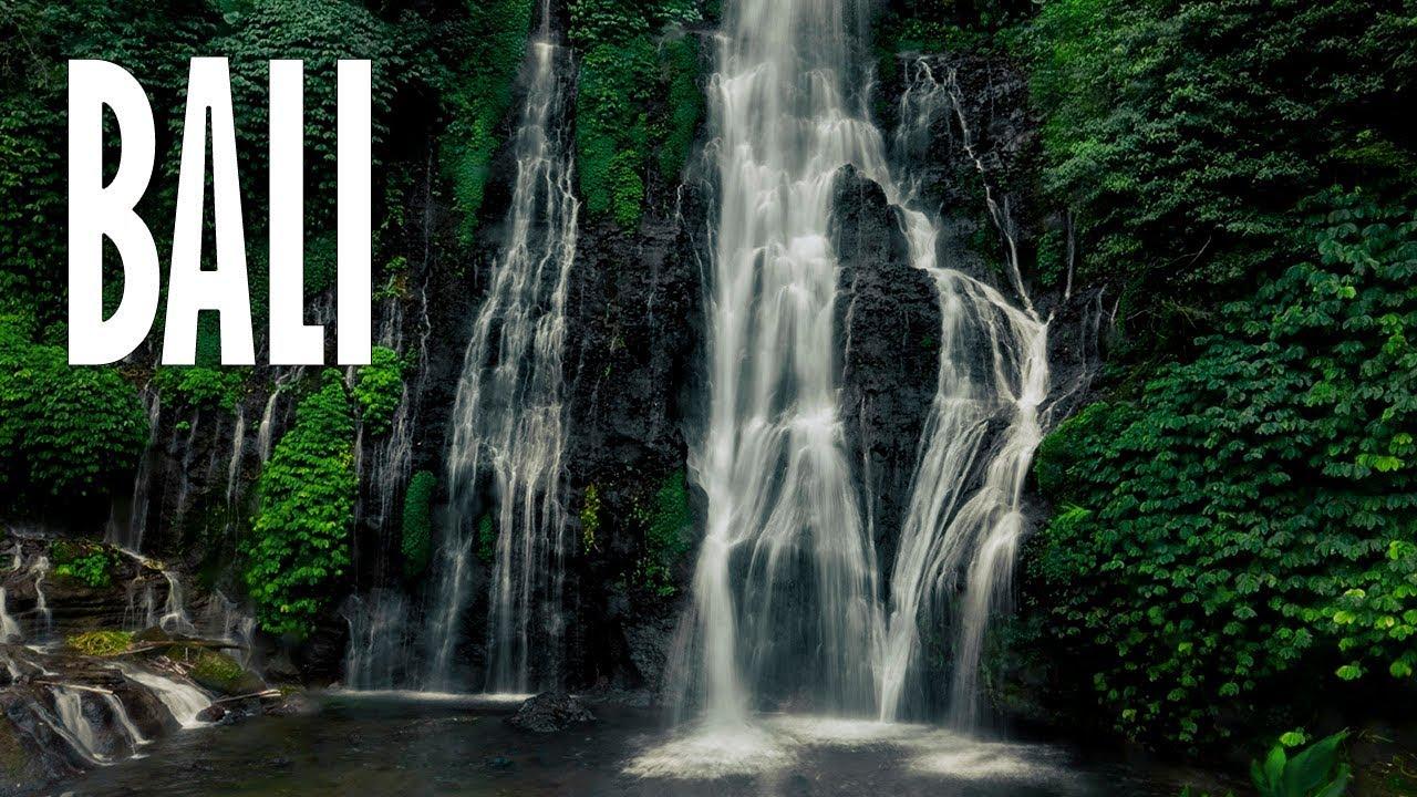 Бали - Путешествия с ребенком. Водопад/Banuymala. Кремация человека. Серия 2