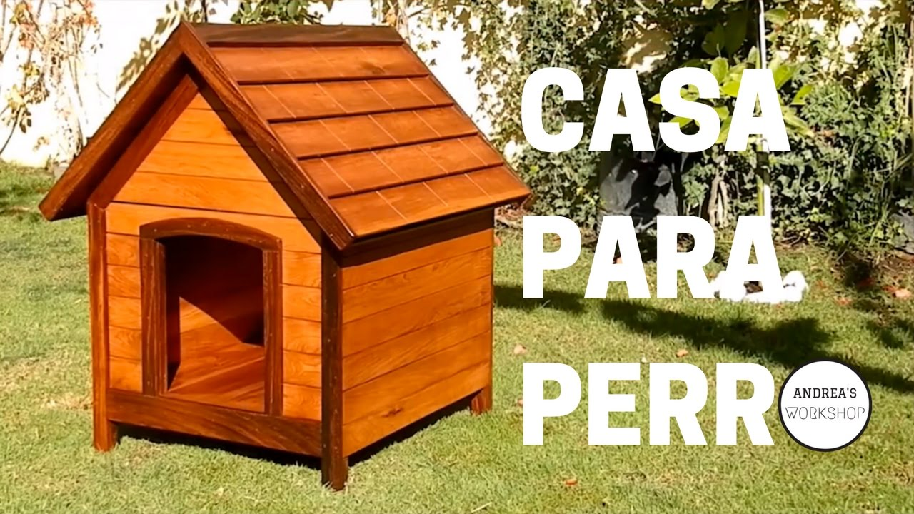 C Mo Hacer Casa Para Perro Con Aislaci N Youtube