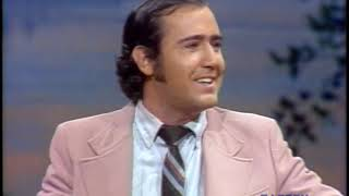 Andy Kaufman's First Appearance on The Tonight Show Starring Johnny Carson, Pt.1 - 01/21/1977