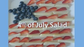 4th Of July Recipe: Red, White And Blue Salad (vegan)