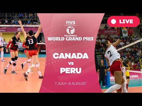Canada V Peru - Group 2: 2017 FIVB Volleyball World Grand Prix