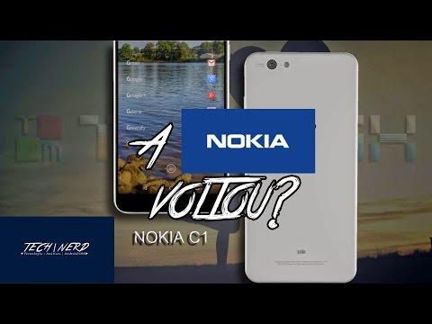 NOKIA C1 - O Retorno da Nokia ao Android?