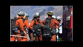 Captivator bidrar til brannslukking i California