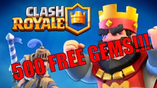 Download lagu 500 FREE Gems in Clash Royale! (NOT USING AN AD APP)