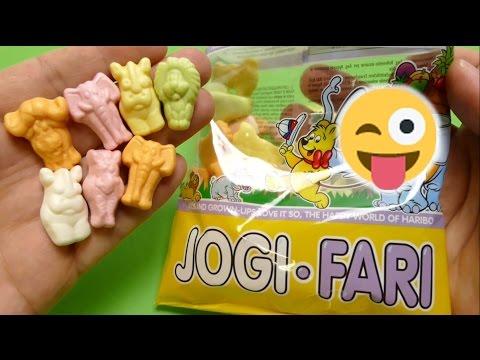 HARIBO - JOGI-FARI - Safari Animals Yogurt Candy