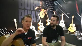 Sheeran Guitars PRE NAMM 2020 Behind The Scenes with Lowden Guitars