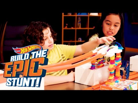 Turn It! | Build the Epic Stunt | Hot Wheels