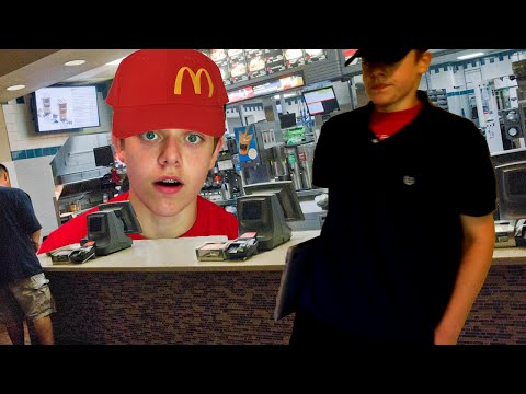 WORKING AT MCDONALDS?? (YouTube Gamers Rant)