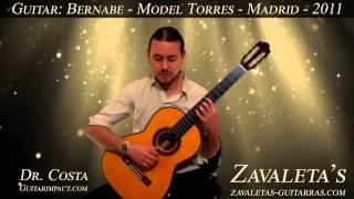 2011 Paulino Bernabe, Model Torres. Eduardo Costa plays Asturias by Isaac Albéniz.