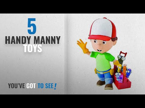 Top 10 Toys Handy Manny [2018]: Bullyland Disney Handy Manny With Toolbox Figure