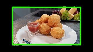 Рецепт рисовых шариков с плавленым сыром | TVRu