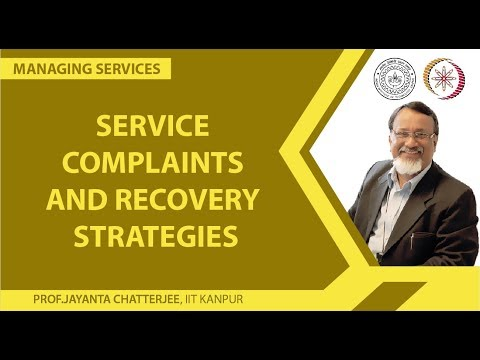 Service Complaints and Recovery Strategies