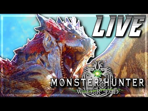 Monster Hunter World Beta - PS4 Gameplay - Let The Hunt Begin! (LIVE)
