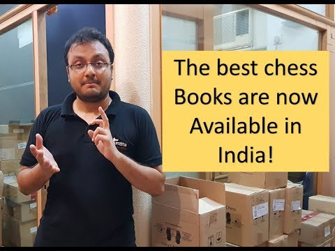 5000+ New Chess Books At The ChessBase India Office!