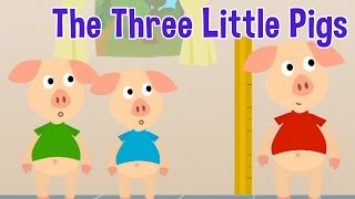 The Three Little Pigs - Animated Fairy Tales for Children thumbnail