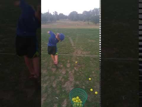 Golfer Acton Jackson