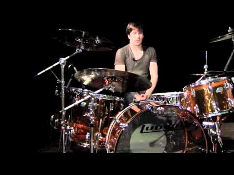 Greenbrier Percussion - Ludwig Amber Vistalite Zeppelin Kit Demo