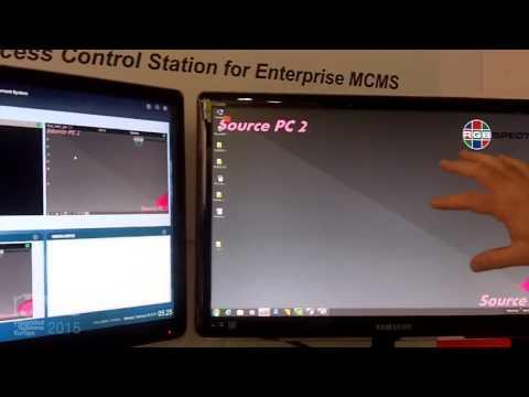ISE 2015: RGB Spectrum Details Video Desktop Adapter Station