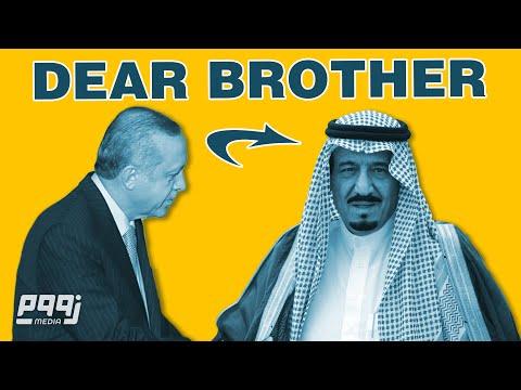 تركيا والسعوديه | بعد طول جفاء اردوغان يتودد إلى الملك سلمان (News in Arabic)