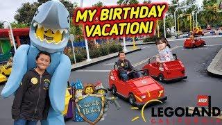 ETHANS BIRTHDAY ADVENTURE AT LEGOLAND!! FUN FAMILY VACATION! RIDES, TOURS, SUPRISES AND LEGOS!!