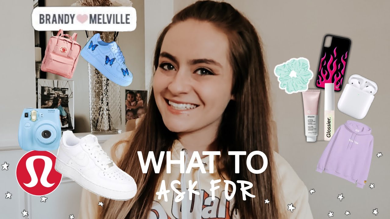 What To Ask For Your Birthday Teen Gift Guide Birthday Wishlist Guide 2020 Youtube