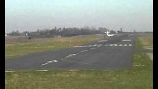 atterrissage landing cessna citation 560xls netjet europe la rochelle airport