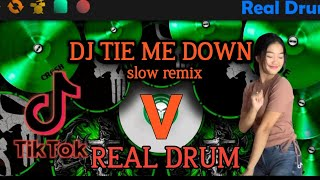 TIE ME DOWN REAL DRUM COVER