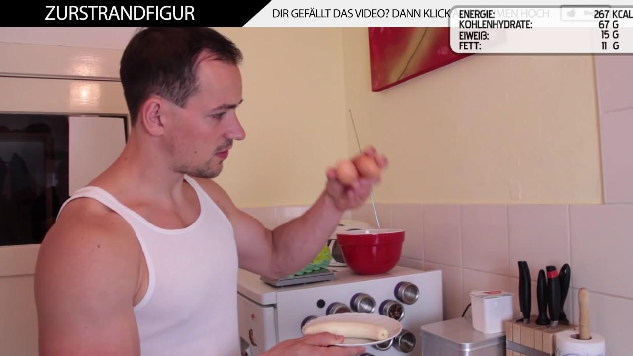 fitness pfannkuchen ohne proteinpulver   youtube