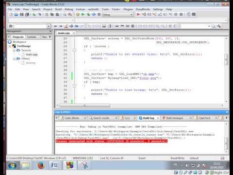 Utilisation de SDL_image.h
